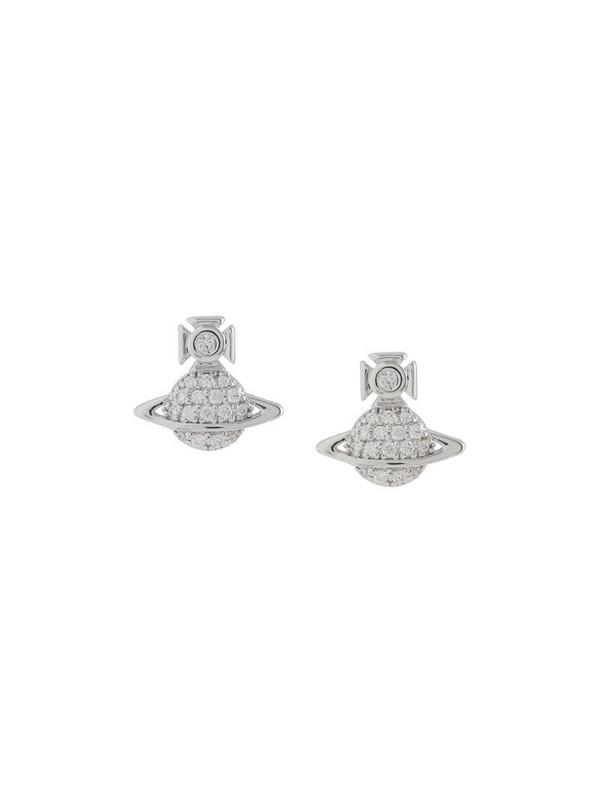 Vivienne Westwood Tamia rhinestone-embellished earrings in silver