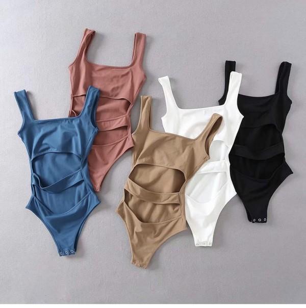 swimwear blue white black nude tan girly girly wishlist one piece swimsuit one piece cut-out bodysuit romper cute