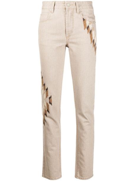 Isabel Marant Étoile Bilianab jeans in brown