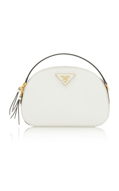 Prada Odette Leather Bag in white