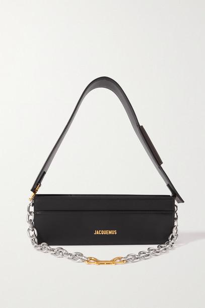 Jacquemus - Le Ciuciu Leather Shoulder Bag - Black