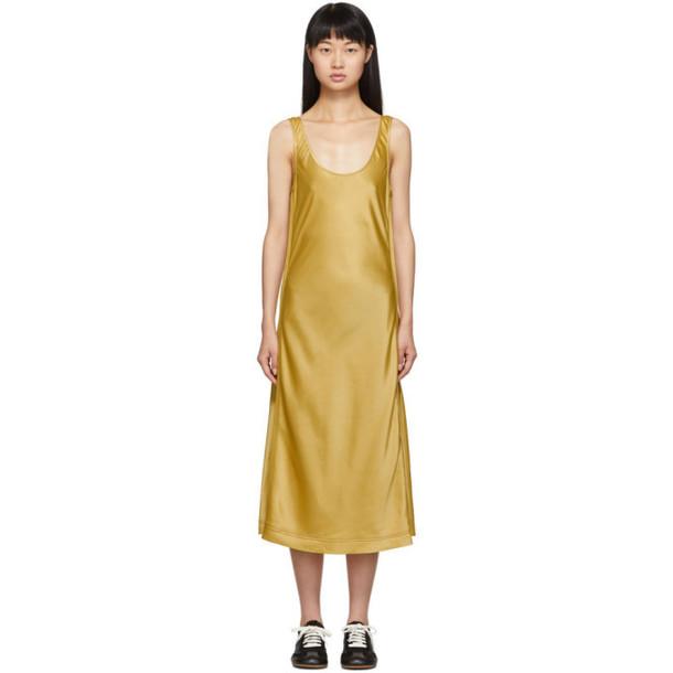Acne Studios Gold Darpana Dress