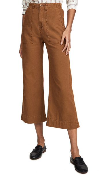 THE GREAT. THE GREAT. The General Pants in copper