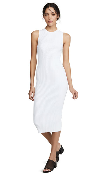 Rag & Bone Brea Dress in white