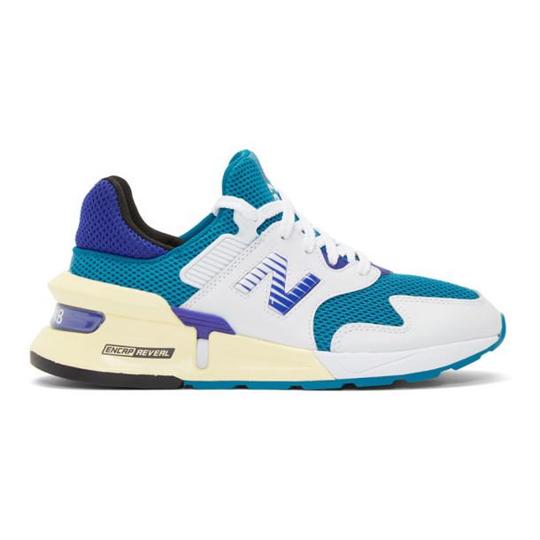 New Balance Blue 997 Sport Sneakers