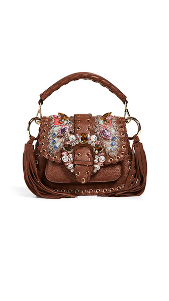 Gedebe Alice Small Bag in camel