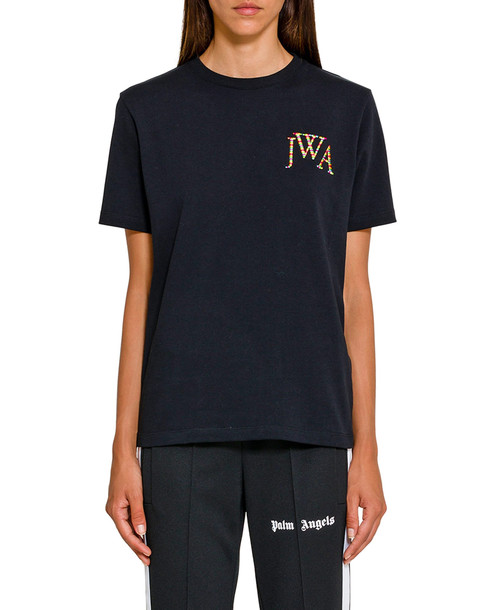J.W. Anderson Jwa Embroidery Logo T-shirt in black