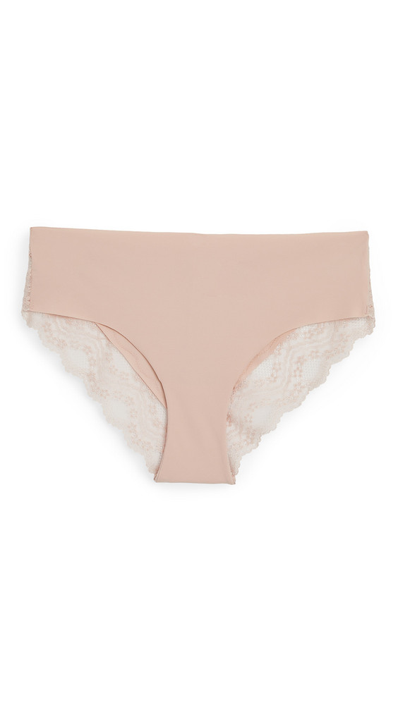 b.tempt'd by Wacoal B.Bare Cheeky Panties in rose