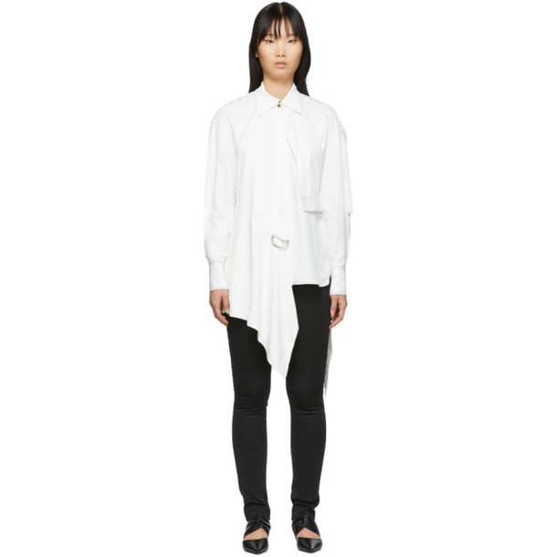 Proenza Schouler White Oversized Button Down Shirt