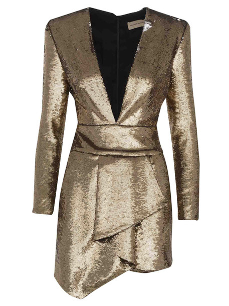 Dress Alexandre Vauthier in gold
