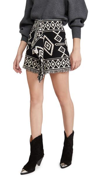 Isabel Marant Etoile Jiloa Skirt in black