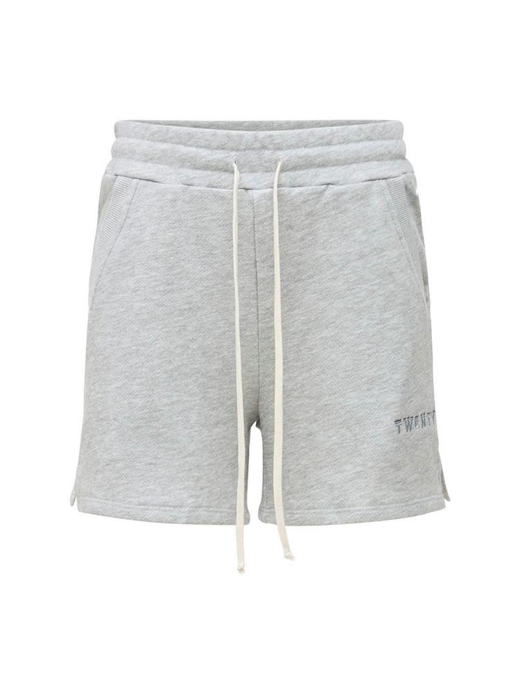 TWENTY MONTRÈAL Sunnyside Jogger Shorts in grey