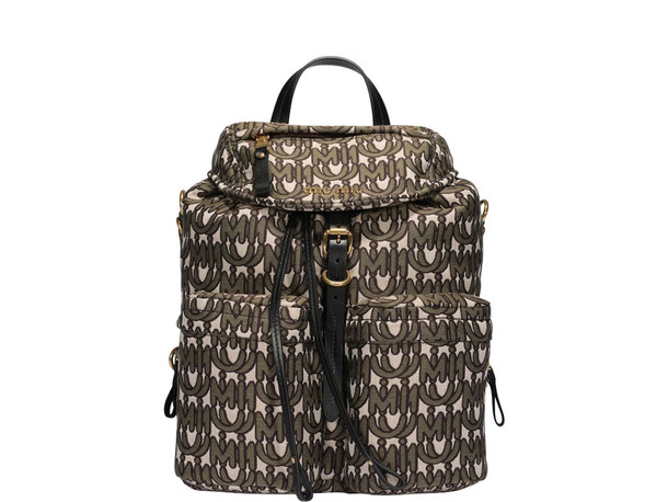 Miu Miu Miu Logo Print Backpack