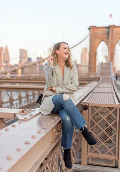 wit&whimsy blogger sweater shorts skirt jacket dress pants