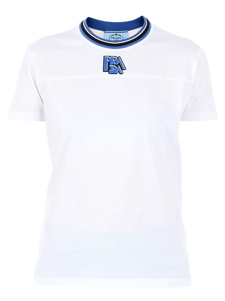 Prada Logo T-shirt in white