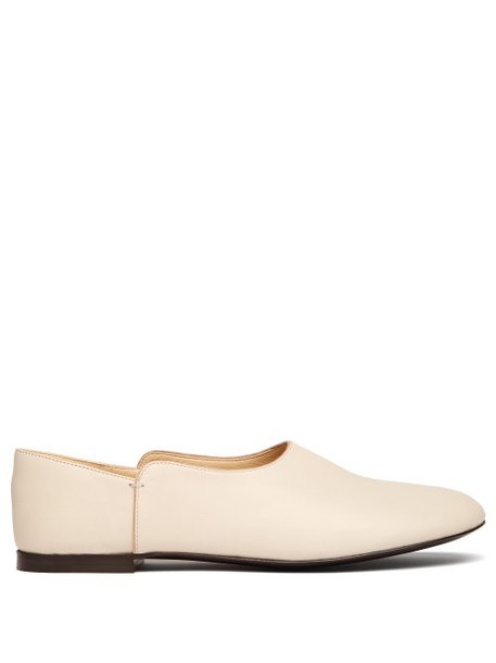 The Row - Boheme Leather Loafers - Womens - White