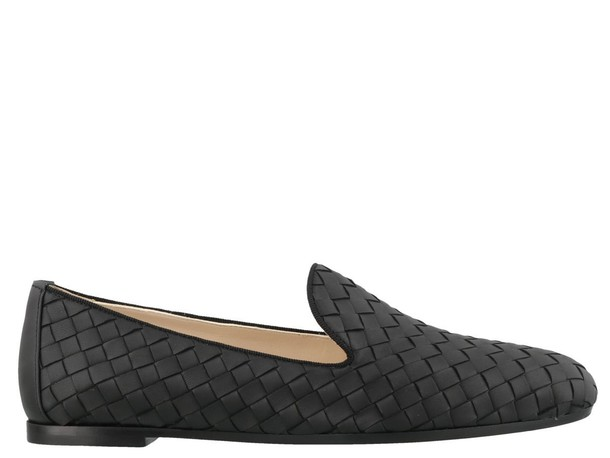 Bottega Veneta Fiandra Slippers in black