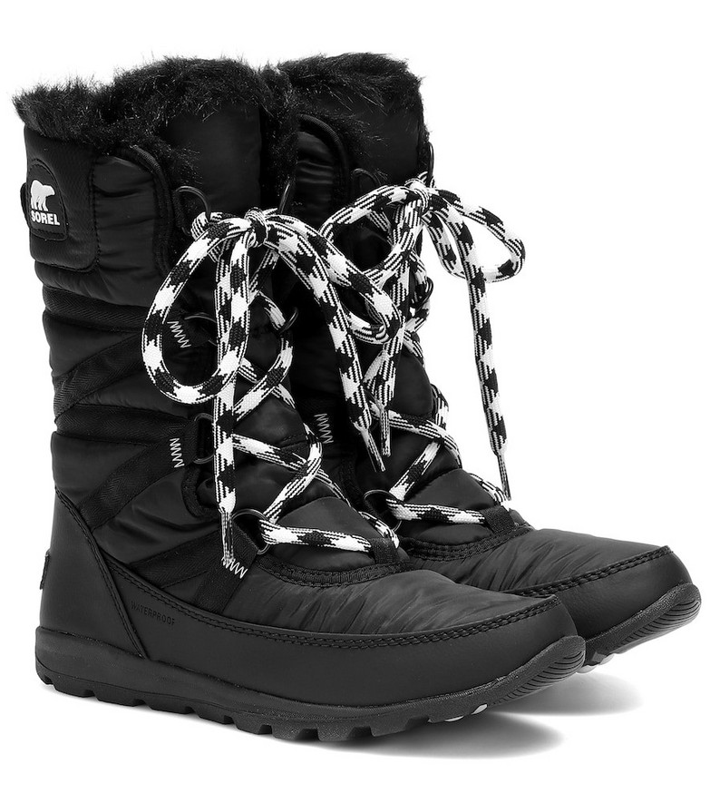 Sorel Whitney Tall Lace II boots in black