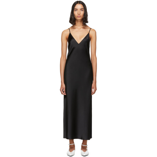 Joseph Black Silk Clea Dress