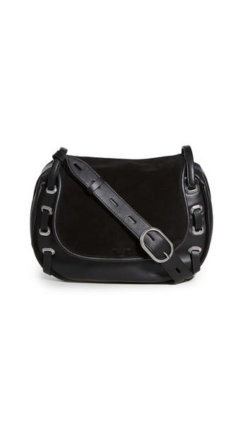 Rag & Bone Legend Saddle Bag in black