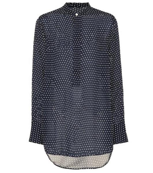 Polo Ralph Lauren Polka-dot blouse in blue