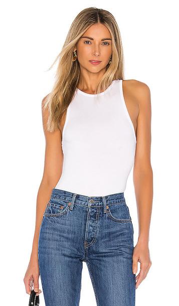 GRLFRND GF Bodysuit in White