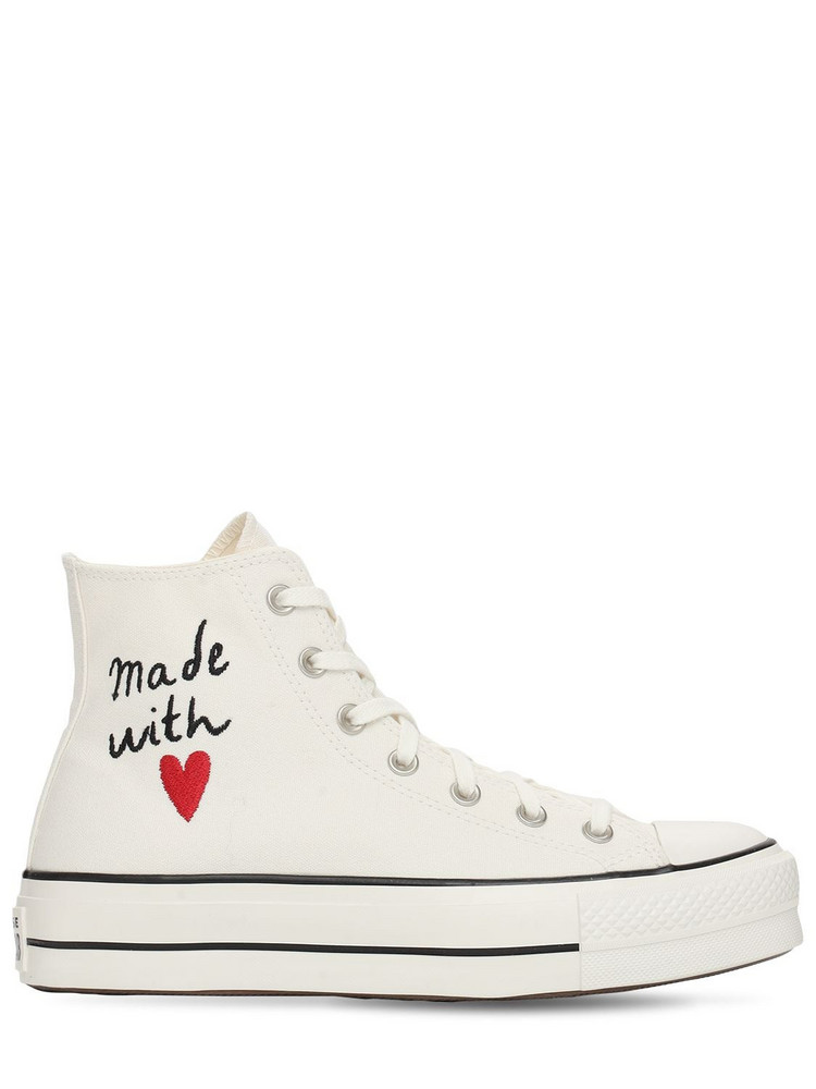 CONVERSE Chuck Taylor All Star Lift Sneakers in white