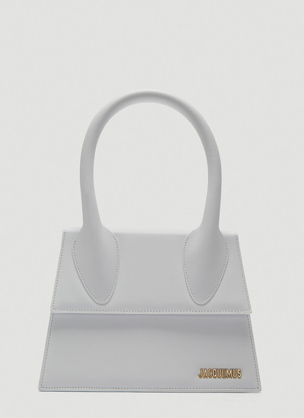 Jacquemus Le Grand Chiquito Bag in White size One Size