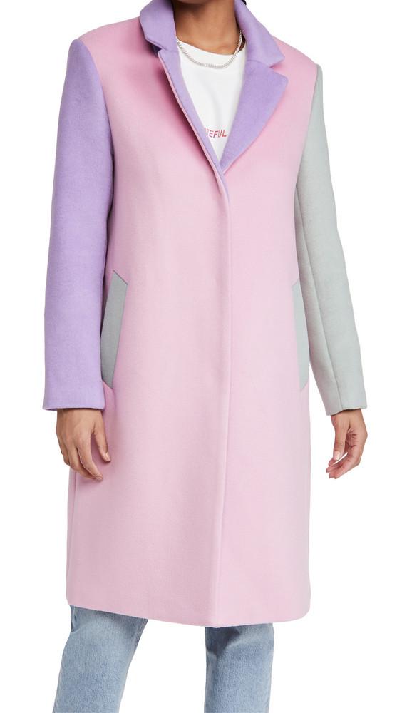 Olivia Rubin Beatrix Coat in pink