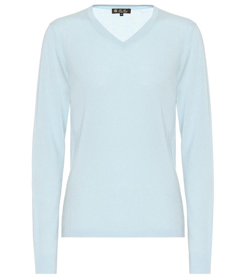 Loro Piana Cashmere sweater in blue