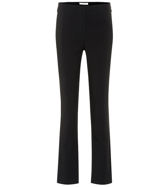 The Row Nicolas wool-blend pants in black