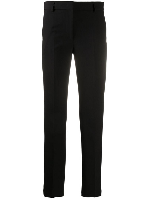 Manuel Ritz slim leg trousers in black