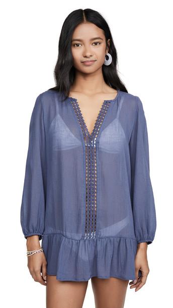 Eberjey Summer Of Love Elba Dress in blue