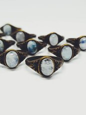 jewels,moon,moonstone ring,moonstone jewelry,bronze,gemstone,gemstone ring,boho,boho chic,jewelry,moonstone rings,moonstone meaning
