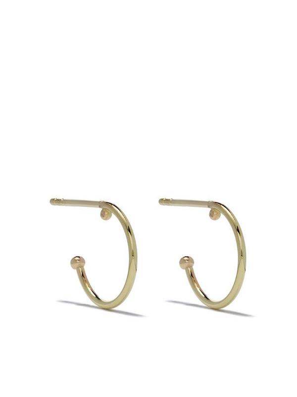 Wouters & Hendrix Gold 18kt gold small hoop earrings
