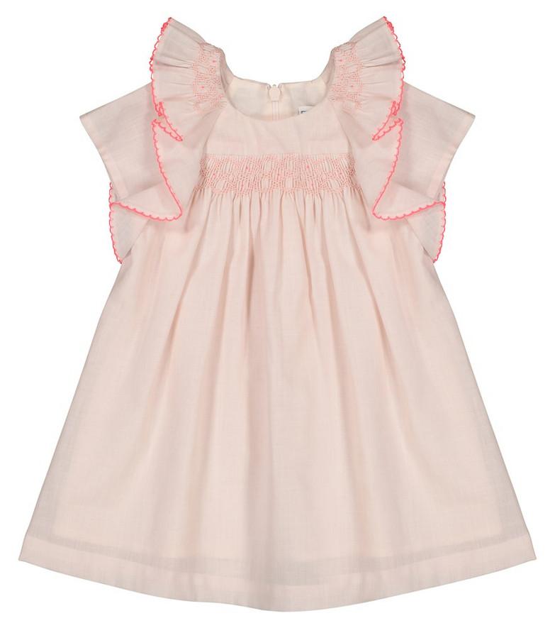 Tartine et Chocolat Baby embroidered cotton dress in pink