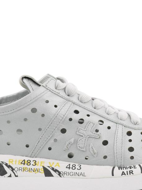 Premiata Conny Sneakers in silver