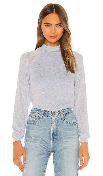 Privacy Please Harlee Sweater in Blue