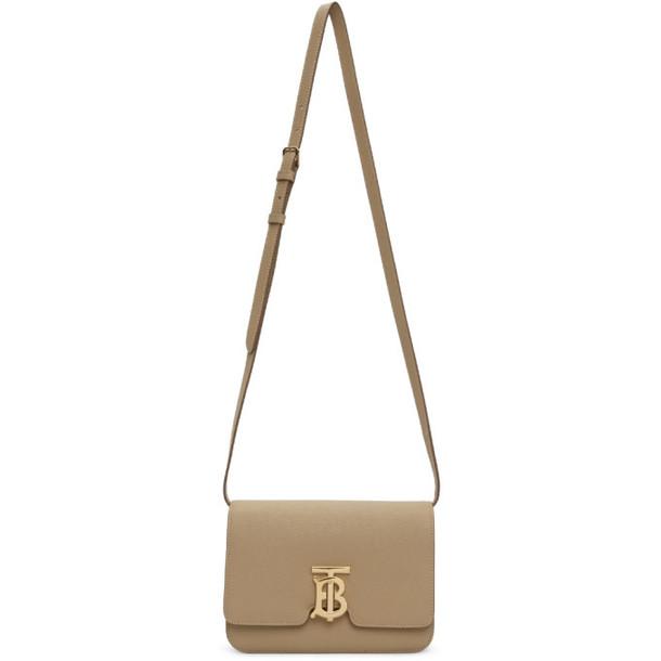 Burberry Beige Small TB Bag