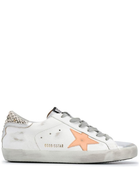 Golden Goose Super-Star low-top sneakers in white