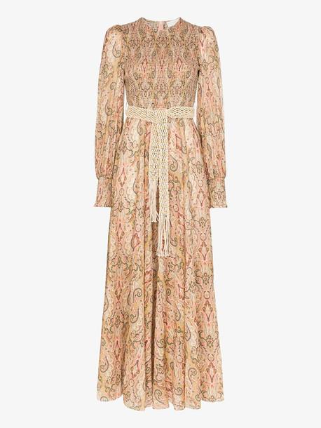 Zimmermann paisley print maxi dress