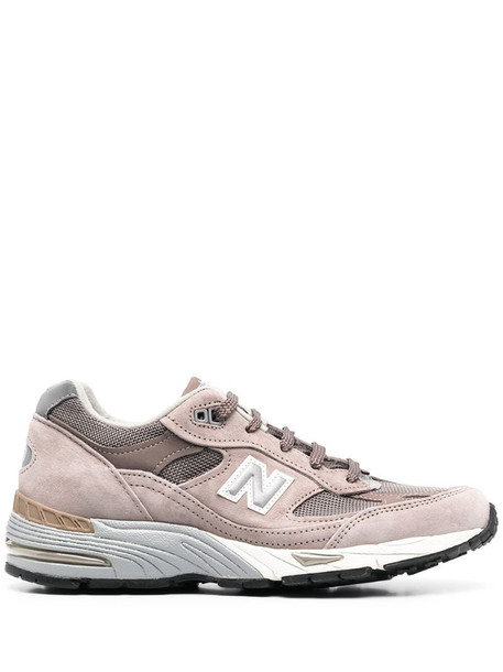 New Balance 991 suede low-top sneakers in brown