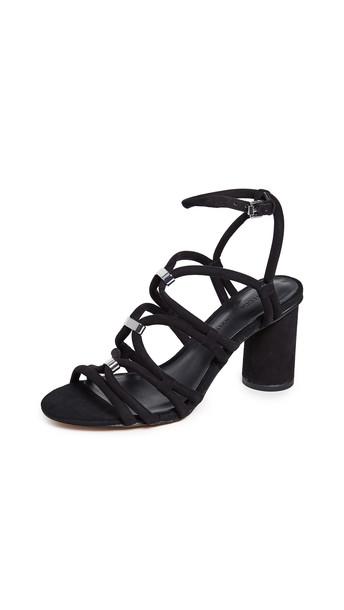 Rebecca Minkoff Apolline Strappy Sandals in black
