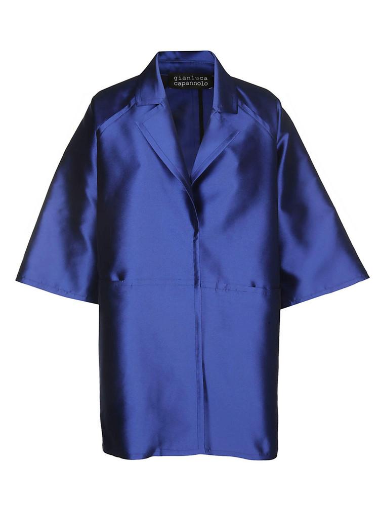 Gianluca Capannolo Emma Coat in blue