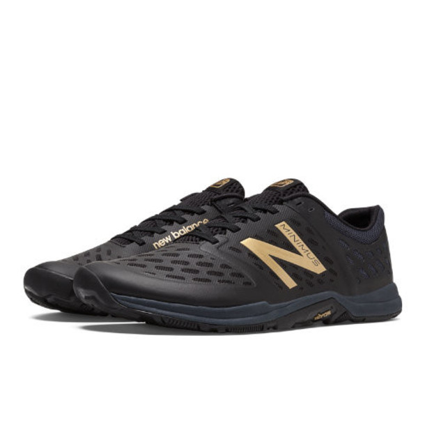 New Balance Minimus 20v4 Trainer Men's High-Intensity Trainers Shoes - Black, Gold (MX20GL4)