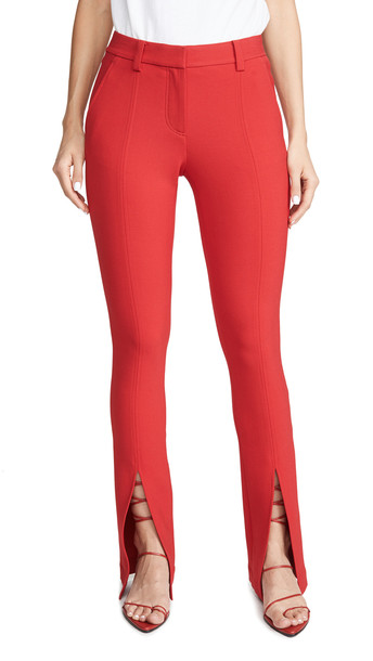 A.L.C. A.L.C. Conway Pants in red