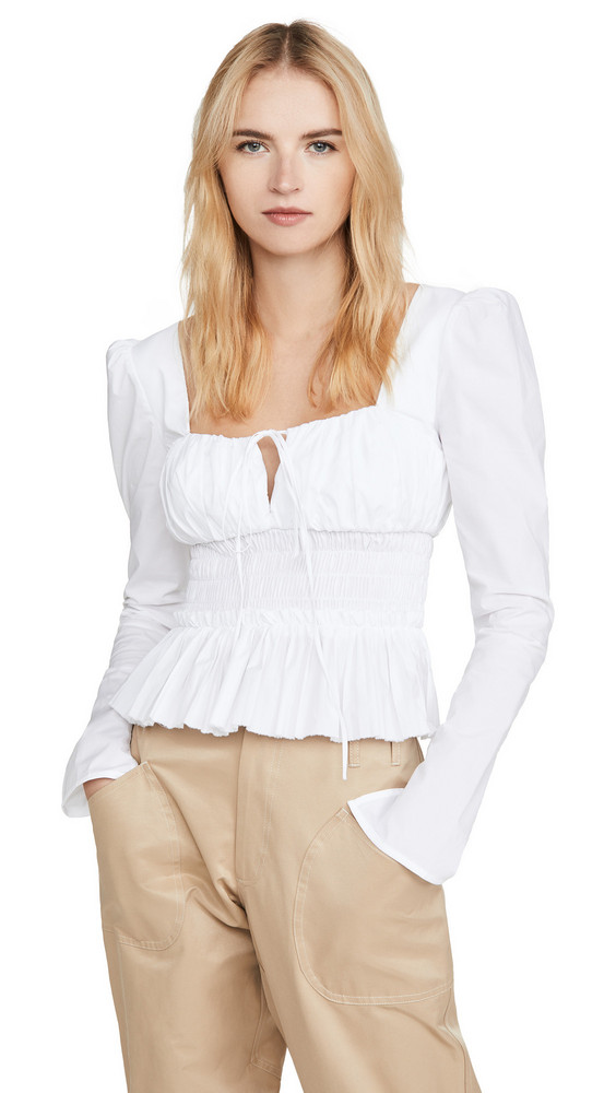 Petersyn Liza Top in white