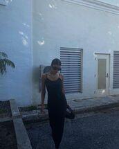dress,black dress,maxi dress,slip dress