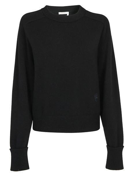 Chloé Chloè Cashmere Pullover in black