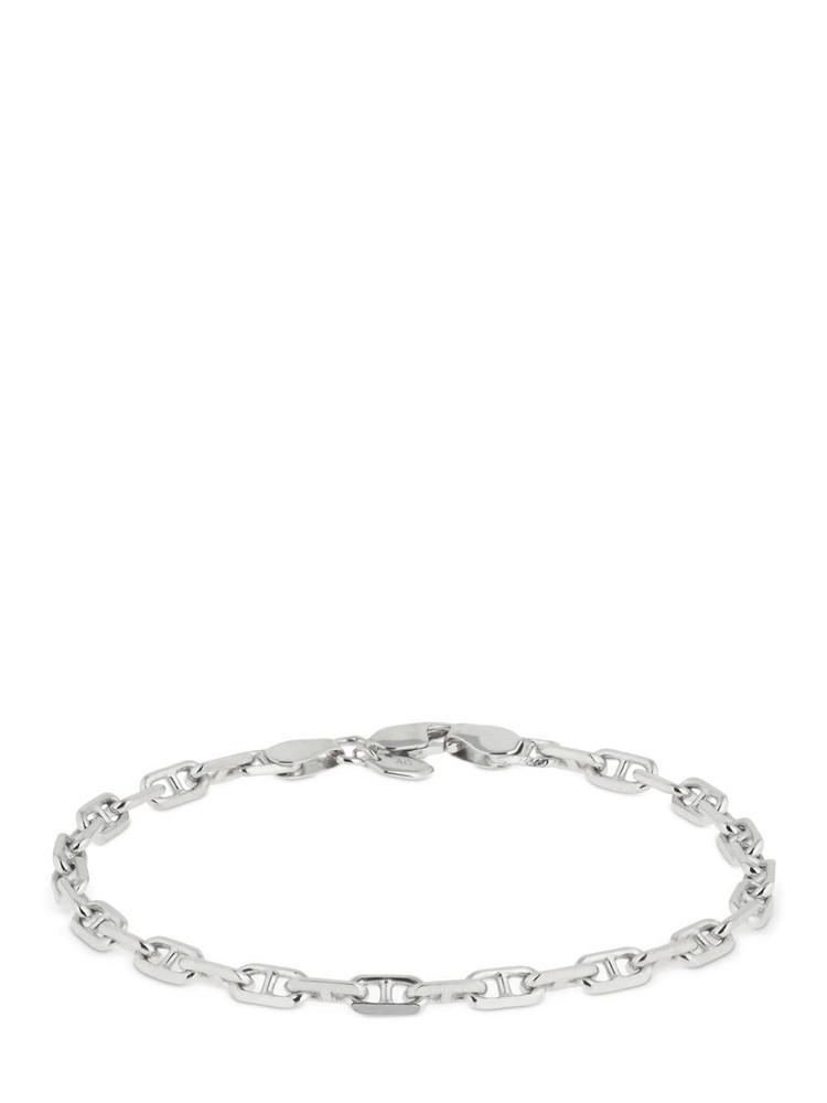 MARIA BLACK 18.5cm Porto Light Chain Bracelet in silver